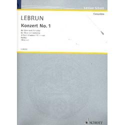 Lebrun, Ludwig August: Konzert d-Moll Nr.1 : für Oboe und Orchester Partitur
