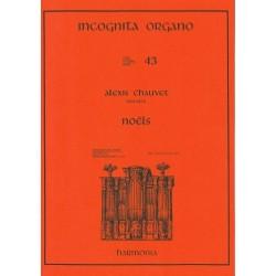 Chauvet, Charles Alexis: Noels for organ