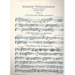 Klassische Weihnachtsstücke Violine 1