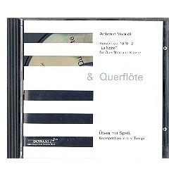 Vivaldi, Antonio: Konzert op.10,2 für Flöte und Klavier CD