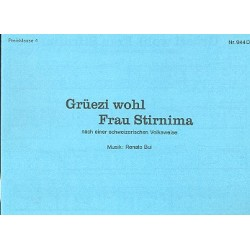 Grüzi wohl Frau Stirnima : für diatonische Handharmonika