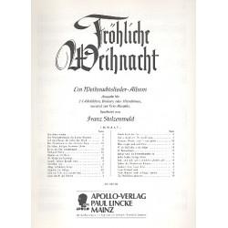 Stolzenwald, Franz: Fröhliche Weihnacht : für 2 Sopranblockflöten Partitur