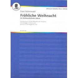 Stolzenwald, Franz: Fröhliche Weihnacht : Melodiestimme in B (Trompete, Klarinette)