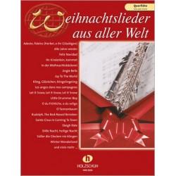 Weihnachtslieder aus aller Welt : für Flöte (solo/Duett)