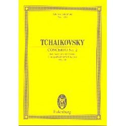 Tschaikowsky, Peter Iljitsch: Konzert G-Dur Nr.2 op.44 für Klavier und Orchester Studienpartitur