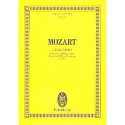 Mozart, Wolfgang Amadeus: Konzert B-Dur KV595 für Klavier und Orchester Studienpartitur