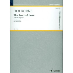Holborne, Anthony: The Fruit of Love and 4 other Quintets : for 5 recorders (SAATB) score