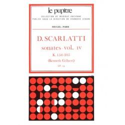 Scarlatti, Domenico: Sonates vol.4 (K156-205) : pour clavecin