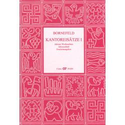 Bornefeld, Helmut: Kantoreisätze Band 1 für 2-5 Stimmen Partitur