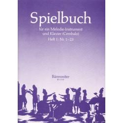 Spielbuch Band 1 (Nr.1-23) : für Flöte und Tasteninstrument