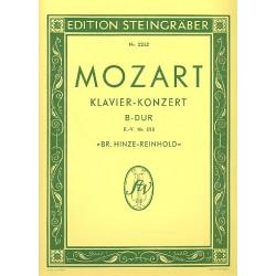 Mozart, Wolfgang Amadeus: Konzert B-Dur KV595 f├╝r Klavier und Orchester : f├╝r 2 Klaviere
