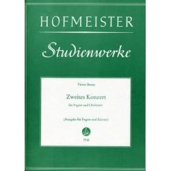 Bruns, Victor: Konzert Nr.2 op.15 für Fagott und Orchester : für Fagott und Klavier