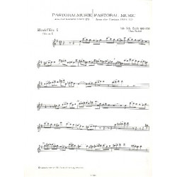Bach, Johann Sebastian: Pastoralmusik BWV175 : für 3 Altblockflöten (Violinen), Violine (Viola, Singstimme), Continuo Blockflöte