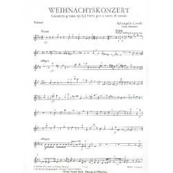 Corelli, Arcangelo: Concerto grosso g-Moll op.6,8 : für 2 Violinen, Violoncello und Streicher Violine 1