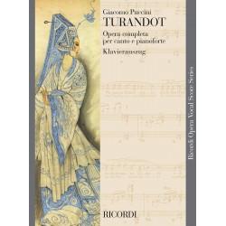Puccini, Giacomo: Turandot Klavierauszug (it/dt) broschiert