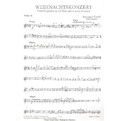 Corelli, Arcangelo: Concerto grosso g-Moll op.6,8 : für 2 Violinen, Violoncello und Streicher Violine 2