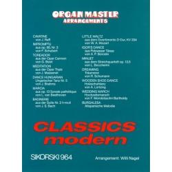 Organ Master Arrangemnets