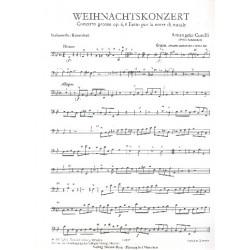Corelli, Arcangelo: Concerto grosso g-Moll op.6,8 : für 2 Violinen, Violoncello und Streicher Cello / Baß