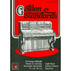 Golden Standards Band 1 : Ber├╝hmte Weltmelodien f├╝r Klavier