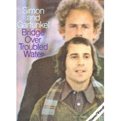 Simon, Paul: Bridge over troubled Water: Songbook piano/vocal/chords