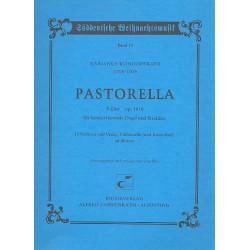 K├Ânigsperger, Marianus: Pastorella F-Dur op.18,8 : f├╝r Orgel und Streichquartett Partitur