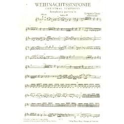 Linek, Gregorio: Weihnachtssinfonie : f├╝r Streicher Violine 2