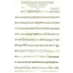 Linek, Gregorio: Weihnachtssinfonie : f├╝r Streicher Viola