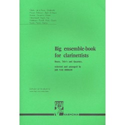 Big Ensemble-Book for Clarinettists for duets, trios and quartets