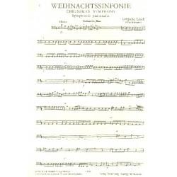 Linek, Gregorio: Weihnachtssinfonie : f├╝r Streicher Violoncello/Kontrabass