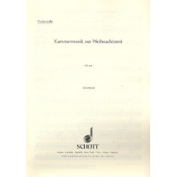Kammermusik zur Weihnachtszeit : für 2 Violinen und Klavier Violoncello (ad lib.)
