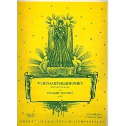Tourbie, Richard: Weihnachtsharmonien op.387 : Melodienkranz f├╝r Violine solo