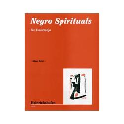 Negro Spirituals : f├╝r Tenorbanjo
