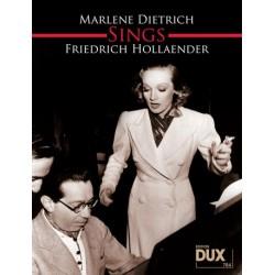 Hollaender, Friedrich: Marlene Dietrich sings Friedrich Hollaender : Songbook Klavier/Gesang/Gitarre