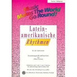 Lateinamerikanische Rhythmen : für flexibles Ensemble Pauken/Schlagzeug