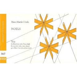 Noels, Trio nach franz├Âsischen Weihnachtsweisen : f├╝r Blockfl├Âten