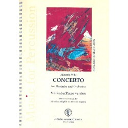 Miki, Minoru: Concerto for marimba and orchestra for marimba and piano