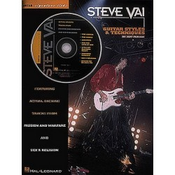 Vai, Steve: Steve Vai (+CD) : guitar styles and techniques