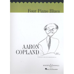 Copland, Aaron: 4 piano blues