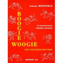 Whitefield, Bernard: Boogie Woogie für Fortgeschrittene : für Klavier