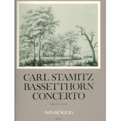 Stamitz, Karl: Konzert B-Dur für Bassetthorn (Klarinette) und Orchester Partitur