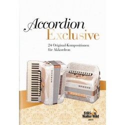 Accordion exclusive 20 spezielle Akkordeon-Duette der verschiedensten Stilrichtungen