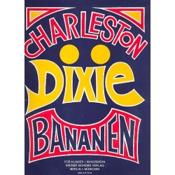 Charleston Dixie Bananen Band 1 : f├╝r Klavier (Akkordeon)