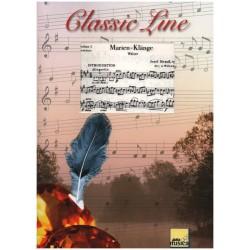 Strauss, Josef: Marien-Klänge op.214 : für Streicher und Holzbläser Stimmen