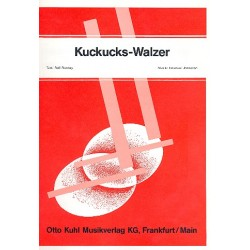 Jonasson, Emanuel: Kuckucks-Walzer : für Klavier