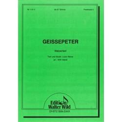 Geissepeter : für Akkordeon mit Bb Stimme