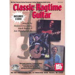 Classic Ragtime Guitar Solos (+CD)