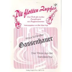 Gassenhauer : für Zupforchester Partitur und Stimmen