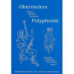 Obermeier, Jürgen: Obermeiers Bordun-Polyphonie Band 1 : Traditionelle Bordunmusik für 3 bis 7 Stimmen, Partitur