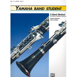 Feldstein, Sandy: Yamaha Band Student vol.2 : for concert band clarinet