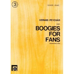 Bui, Renato: Boogies for Fans Band 3 : f├╝r Klavier